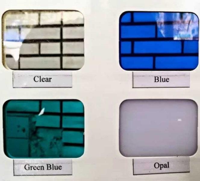 mã màu tấm lợp lấy sáng polycarbonate 2mm
