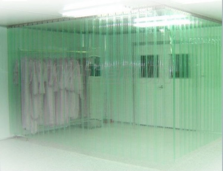 rèm nhựa PVC trong suốt